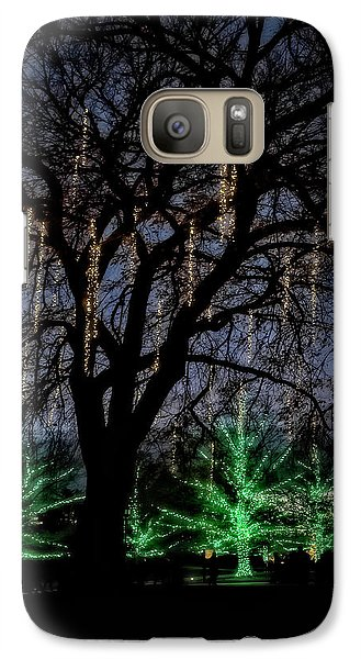 Galaxy Case featuring the photograph 'tis The Season by Eduard Moldoveanu