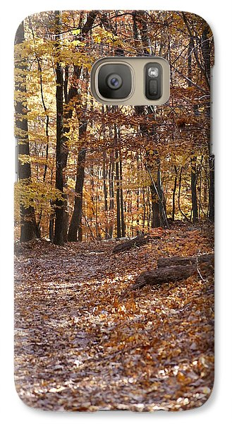Galaxy Case featuring the photograph Trail by Heidi Poulin