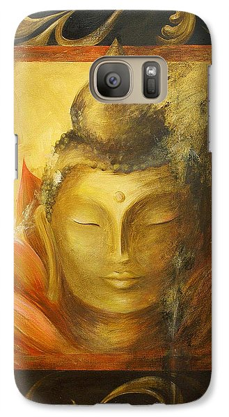 Galaxy Case featuring the painting Transcendence by Dina Dargo