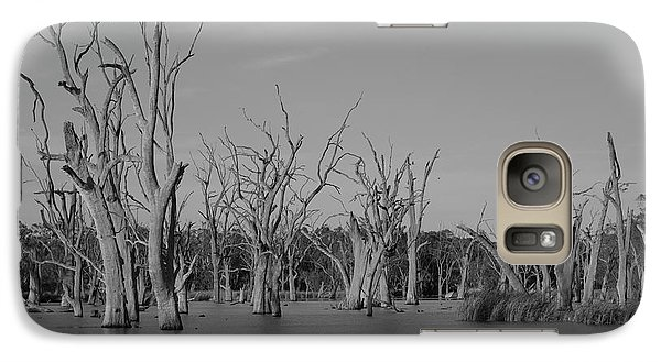 Galaxy Case featuring the photograph Tree Cemetery by Douglas Barnard