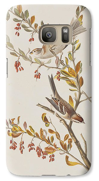 Tree Sparrow Galaxy S7 Case