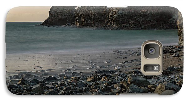 Galaxy Case featuring the photograph Trevellas Cove by Brian Roscorla