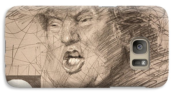 Trump Galaxy S7 Case by Ylli Haruni