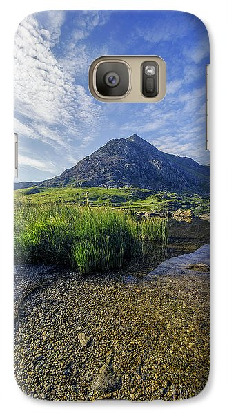 Galaxy Case featuring the photograph Tryfan Mountain by Ian Mitchell