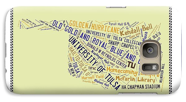 Tu Word Art University Of Tulsa Galaxy S7 Case