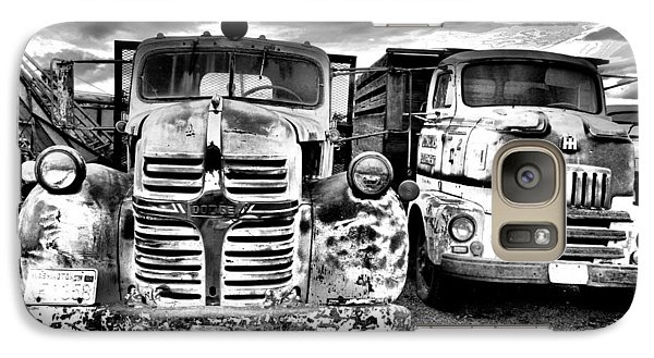Galaxy Case featuring the photograph Two Old Beauties by Jeff Swan