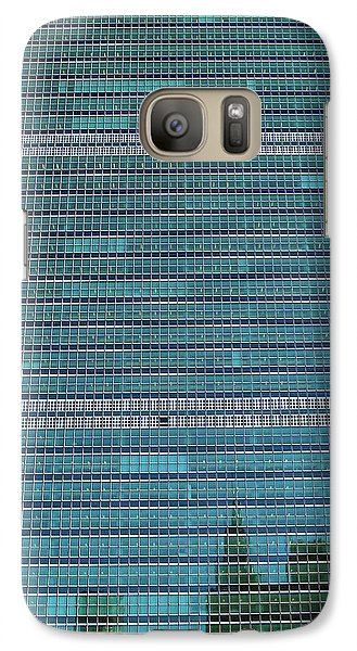 Galaxy Case featuring the photograph United Nations Secretariat Building by Mitch Cat