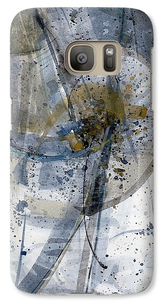 Galaxy Case featuring the painting Untitled - Abstract by Robert Anderson