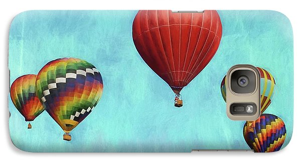 Galaxy Case featuring the photograph Up Up And Away 2 by Benanne Stiens