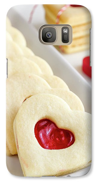 Galaxy Case featuring the photograph Valentines Day Treats by Teri Virbickis