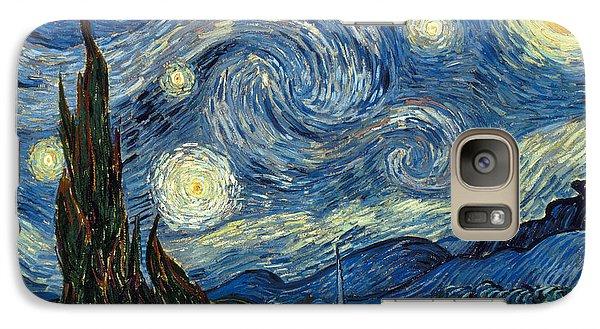Impressionism Galaxy S7 Case - Van Gogh Starry Night by Granger