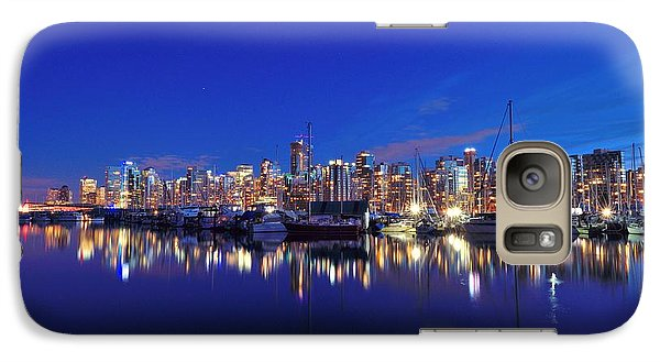 Galaxy Case featuring the photograph Vancouver Skyline by Kathy King