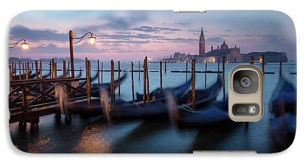 Galaxy Case featuring the photograph Venice Dawn by Brian Jannsen
