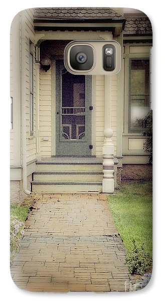 Galaxy Case featuring the photograph Victorian Porch by Jill Battaglia