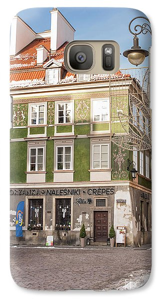 Galaxy Case featuring the photograph Warsaw, Poland by Juli Scalzi