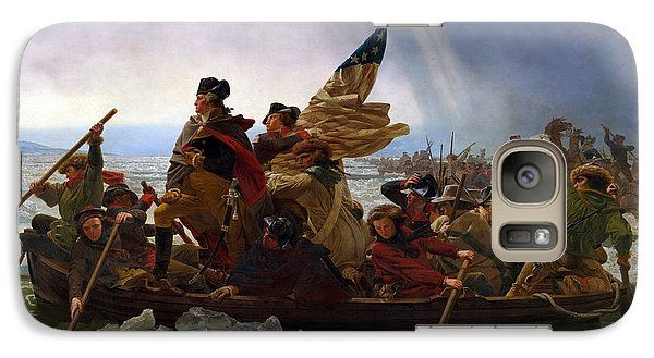 Washington Crossing The Delaware Galaxy S7 Case by Emanuel Leutze