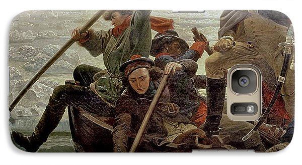 Boat Galaxy S7 Case - Washington Crossing The Delaware River by Emanuel Gottlieb Leutze