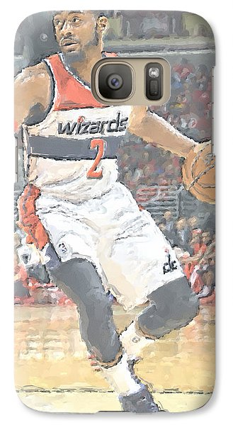 Washington Wizards John Wall Galaxy Case by Joe Hamilton
