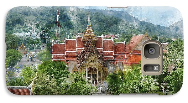 Wat Chalong In Phuket Thailand Galaxy S7 Case