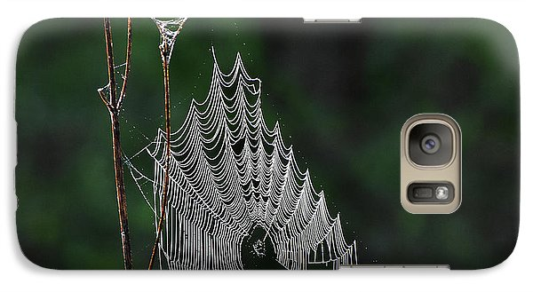 Galaxy Case featuring the photograph Webs We Weave by Skip Willits