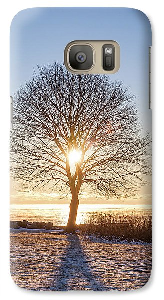 Galaxy Case featuring the photograph Whaleback Sunrise by Robert Clifford
