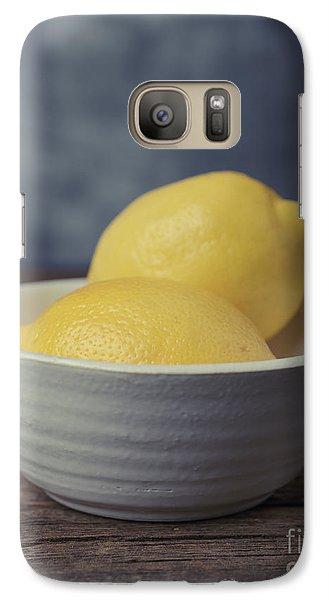 Lemon Galaxy S7 Case - When Life Gives You Lemons by Edward Fielding