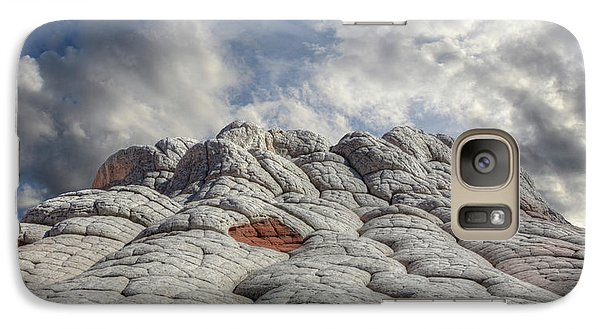 Galaxy Case featuring the photograph Where Heaven Meets Earth 2 by Bob Christopher