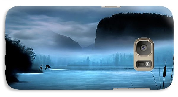 Galaxy Case featuring the photograph While You Were Sleeping by John Poon