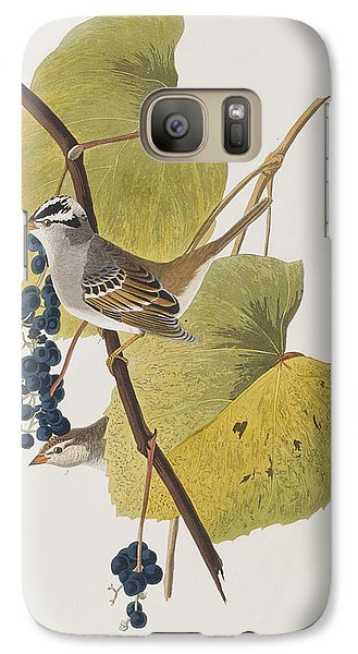White-crowned Sparrow Galaxy S7 Case