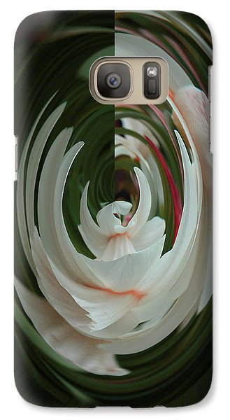 White Form Galaxy S7 Case