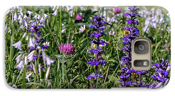Galaxy Case featuring the photograph Wild Flowers by Patricia Hofmeester