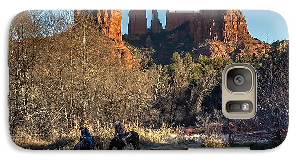 Galaxy Case featuring the photograph Wild Wild West by Kelly Marquardt