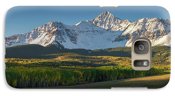 Galaxy Case featuring the photograph Wilson Peak Panorama by Aaron Spong