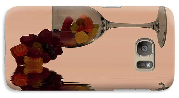 Galaxy Case featuring the photograph Wine Gums Sweets by David French