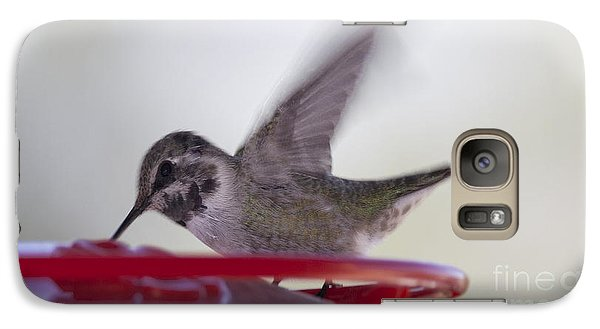 Galaxy Case featuring the photograph Wings In Motion 2 by Anne Rodkin