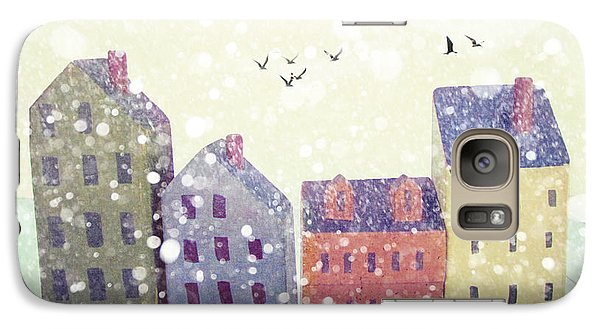 Galaxy Case featuring the photograph Winter In Nantucket by Amy Tyler