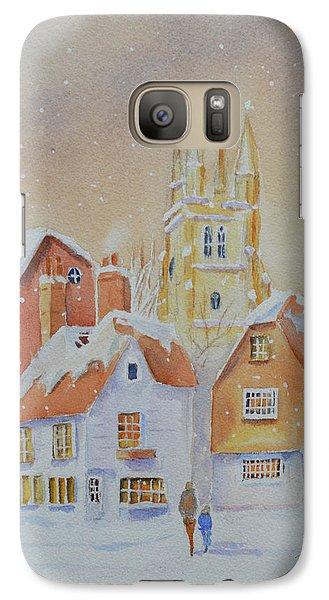Winter In Tenterden Galaxy S7 Case by Beatrice Cloake