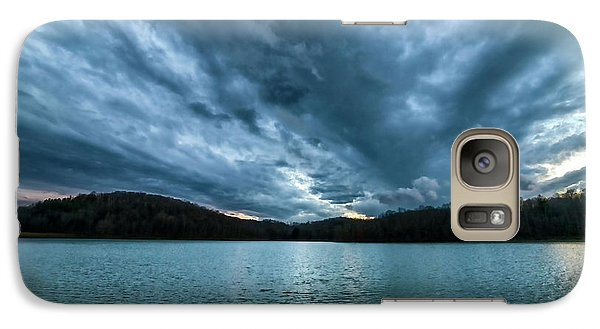 Galaxy Case featuring the photograph Winter Storm Clouds by Thomas R Fletcher