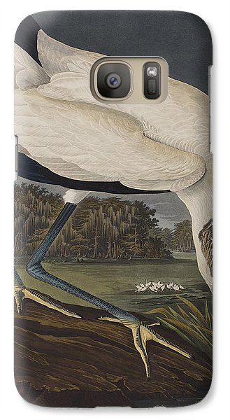 Wood Ibis Galaxy S7 Case by John James Audubon
