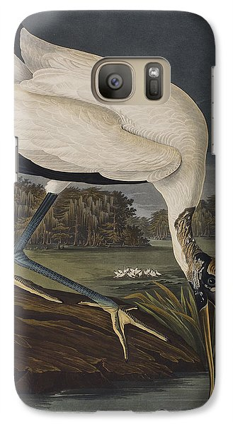 Stork Galaxy S7 Case - Wood Ibis by John James Audubon