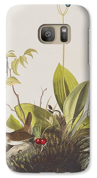 Wood Wren Galaxy S7 Case by John James Audubon