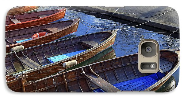 Boat Galaxy S7 Case - Wooden Boats by Joana Kruse