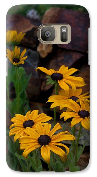 Galaxy Case featuring the photograph Yellow Beauty by Cherie Duran