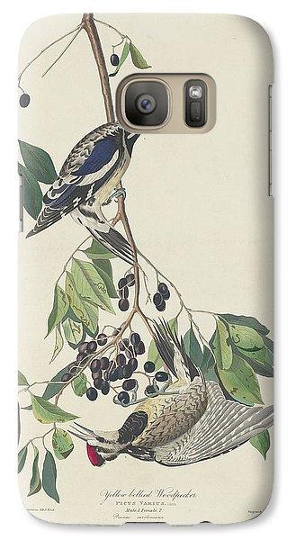 Yellow-bellied Woodpecker Galaxy S7 Case