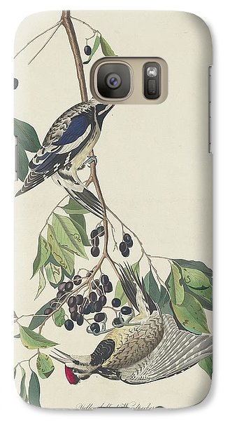 Yellow-bellied Woodpecker Galaxy S7 Case by John James Audubon