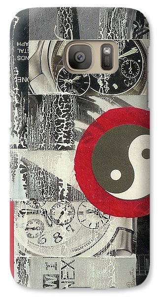 Galaxy Case featuring the mixed media Ying Yang by Desiree Paquette