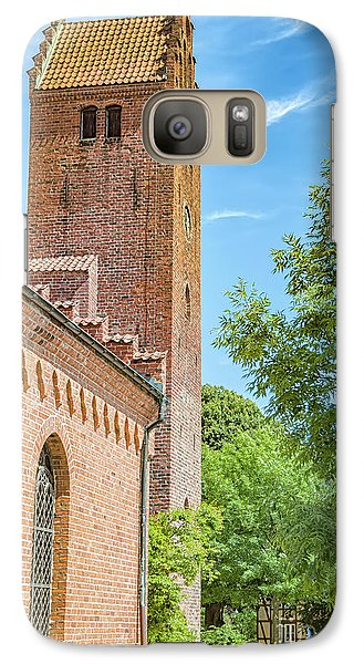Galaxy Case featuring the photograph Ystad Monastery In Sweden by Antony McAulay