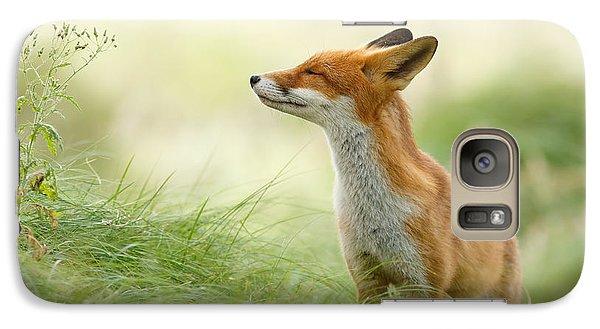 Zen Fox Series - Zen Fox Galaxy S7 Case by Roeselien Raimond
