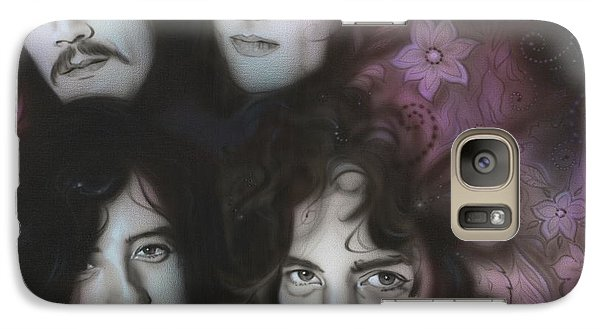 Led Zeppelin - ' Zeppelin ' Galaxy Case by Christian Chapman Art