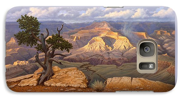Zoroaster Temple From Yaki Point Galaxy S7 Case by Paul Krapf